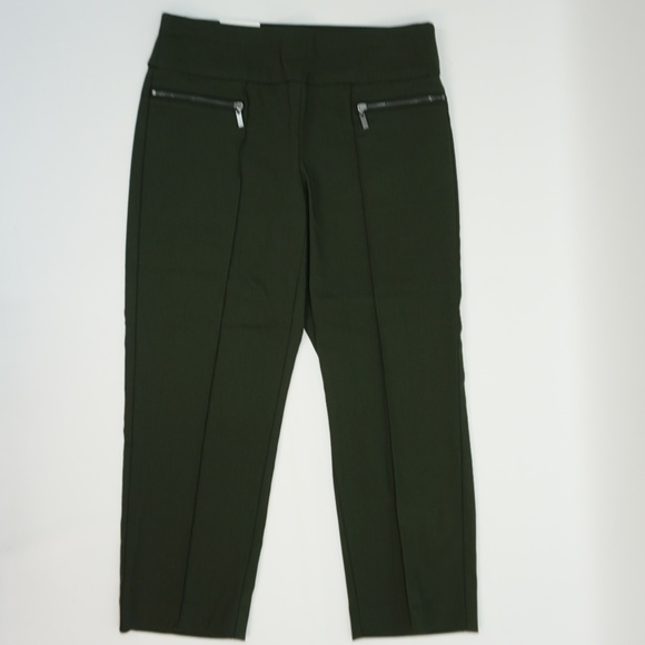 9f6b17a49d0ed Style   Co Pull On Front Seam Capri Cropped Pants